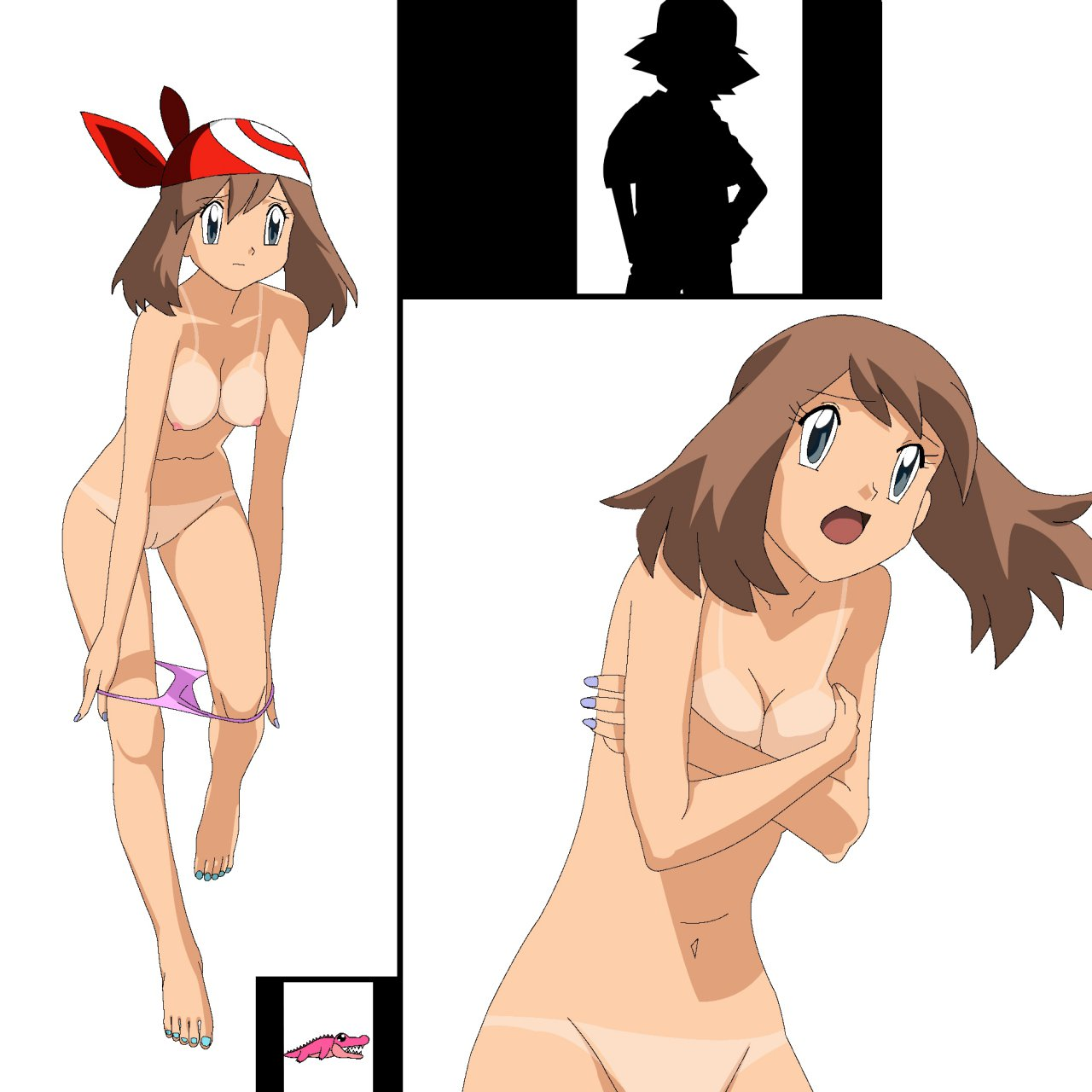 Misty Pokemon Porn Nude May Trainer Naked Iris