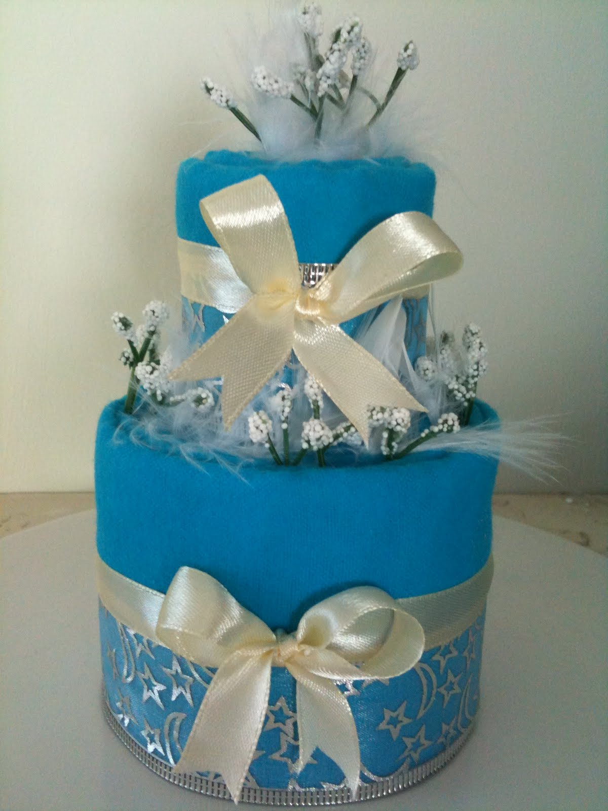 Towel cake for wedding