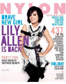 Nylon Magazine Lily Allen