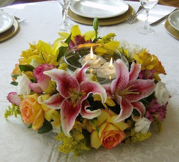 Um lindo arranjo para por á mesa