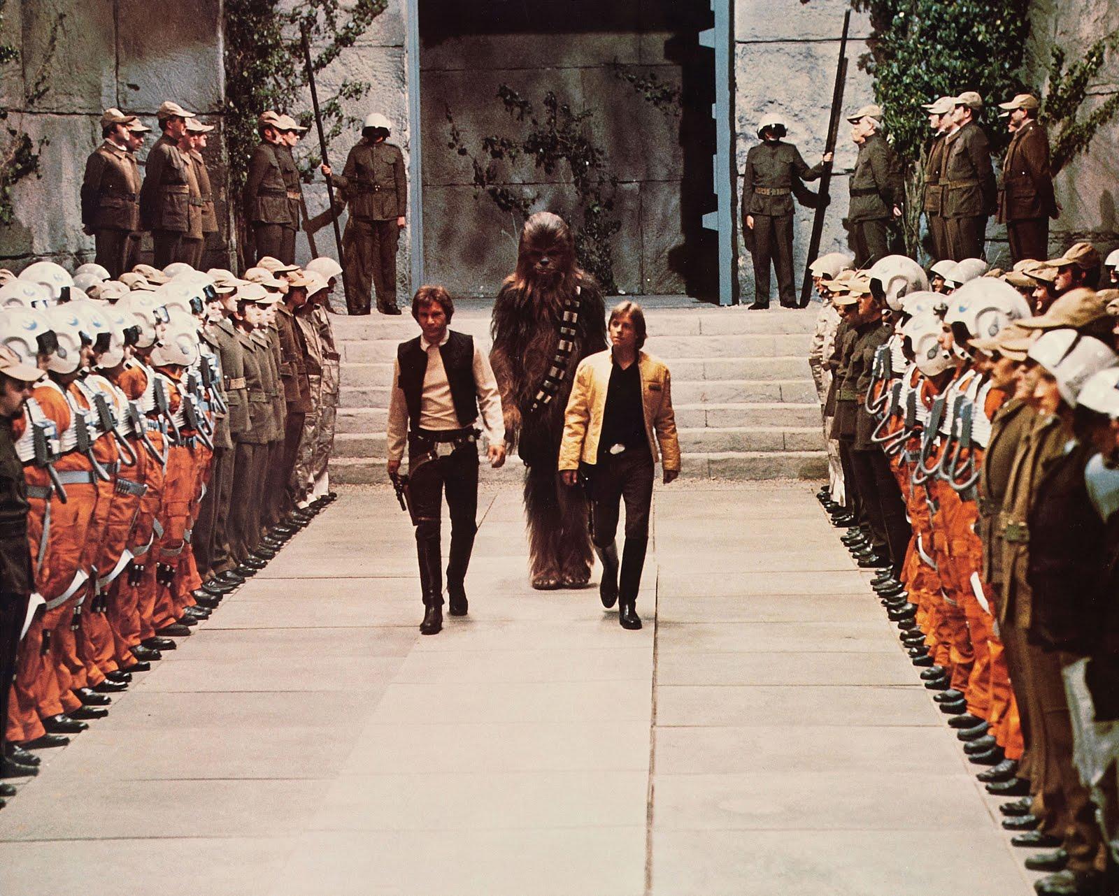 Star wars: episode iv - a new hope photobusta lobby cards