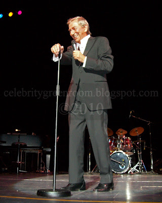 Des O'Connor on tour 2010 as sprightly 78