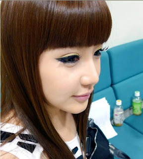Cara Make Up Mata ala Park Bom 2ne1
