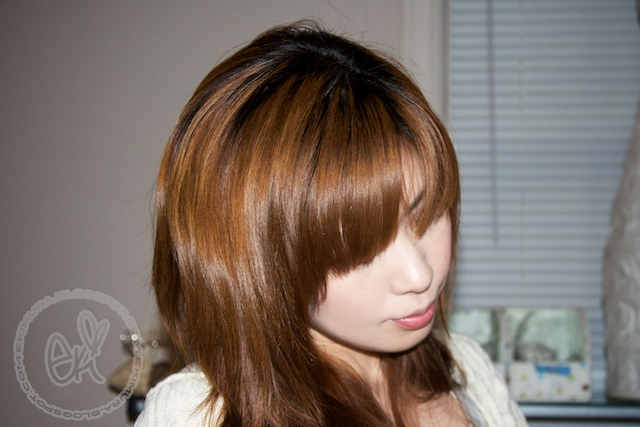 asian girls with light brown hair. more like light brown with