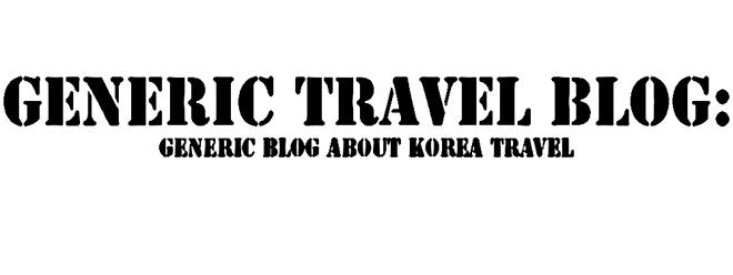 """Generic travel blog"""