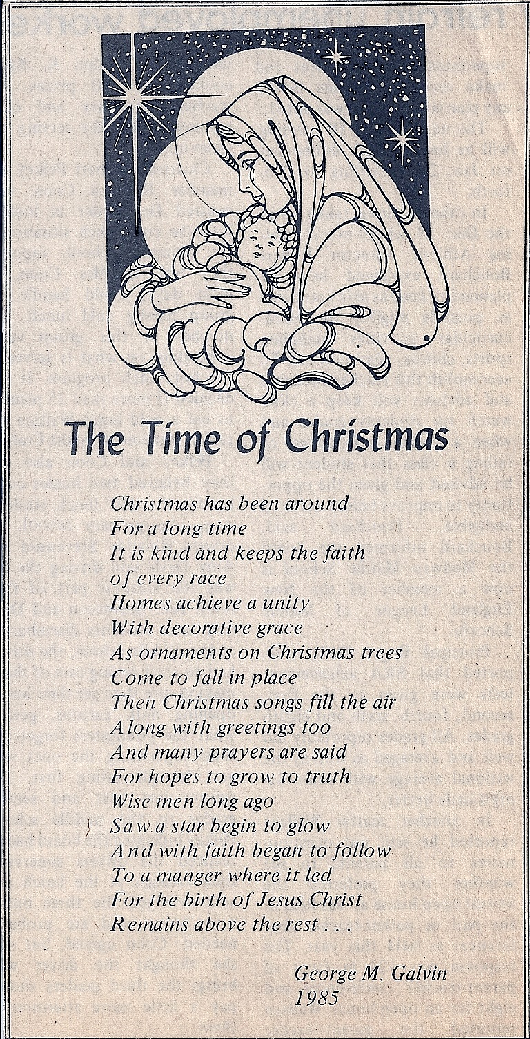 Christmas Bulletin Boards: Christmas Poems And Quotes. QuotesGram