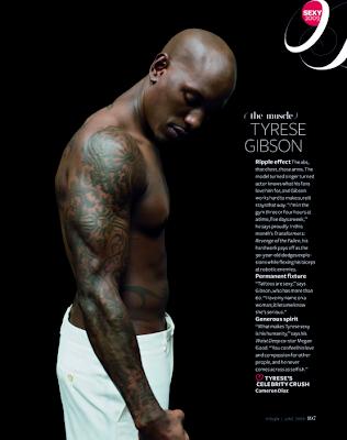 tyrese in magazine