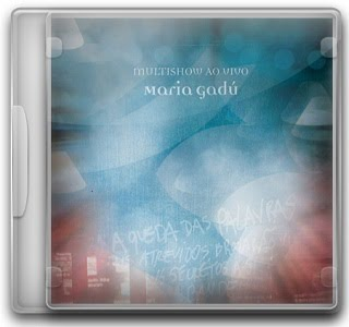 Capa CD Maria Gadú – Multishow Ao Vivo   2 CDs (2010)