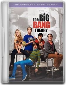 Capa The Big Bang Theory   3ª Temp. Completa   Dublado