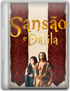 Capa Sansão e Dalila – Minissérie Completa   HDTV