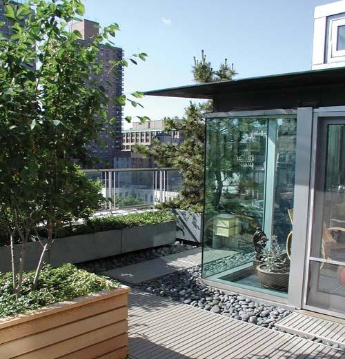 Architecture amazing rooftop and terrace gardens at for Terrace with roof