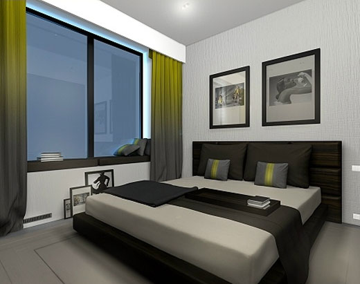 Modern Japanese Apartment Interior