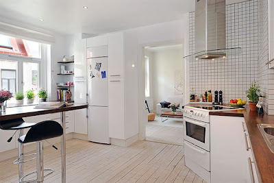 Architecture Swedish Minimalist Apartment Modern Interior