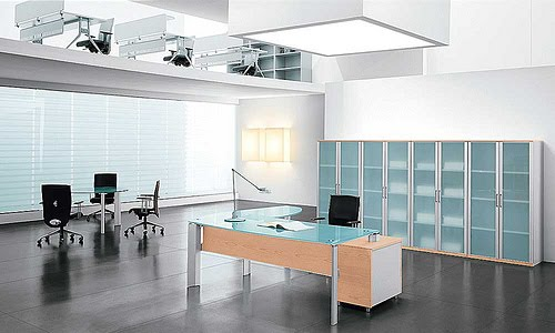 Architecture Homes Modern Italian style office furniture from Spacify