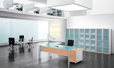 architecture Modern Italian style office furniture from Spacify