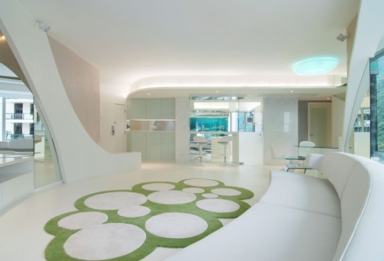 Living Pod An Apartment Unit Designed By Joey Ho Design Is Inspired By