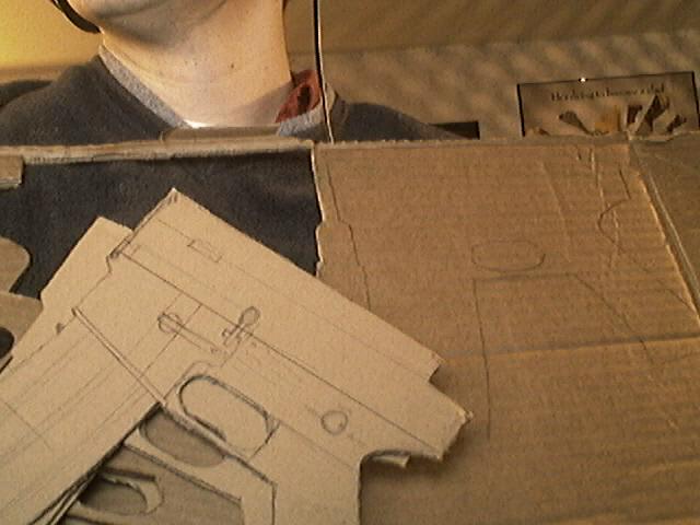 cardboard armory m4a1 carbine