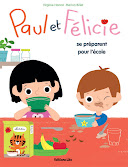 Paul et Flicie se prparent pour l&#39;cole