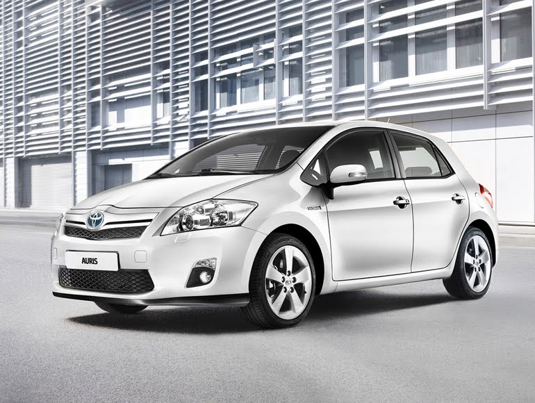 2010 Toyota Auris. The all-new Toyota Auris