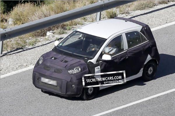 Kia Picanto 2007. Kia has begun testing the