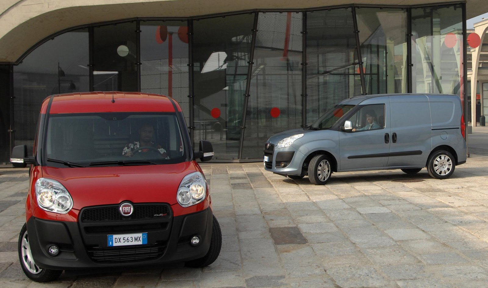 on the outgoing Fiat Doblò