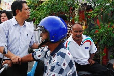 XPDC Pakatan Rakyat Siri 2: Disambut kompang di Pekan Manong