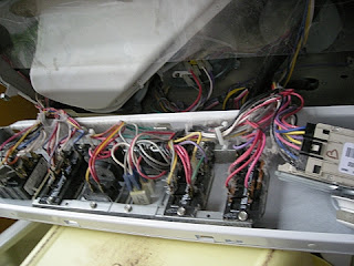 confusing wiring of the washer