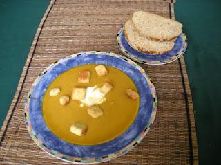 La Gringa's Chipotle Butternut Squash Soup