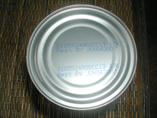 Canned tomato expiration date