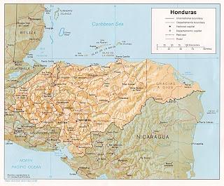 Honduras Maps | La Gringa's Blogicito