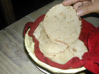 Honduran white corn tortillas