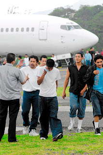 Honduran deportees
