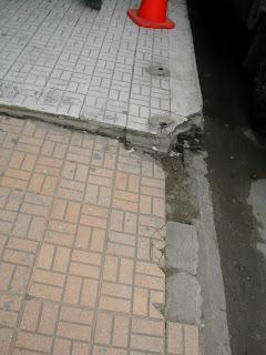 sidewalk, La Cieba