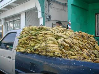 Banana truck, La Ceiba, Honduras