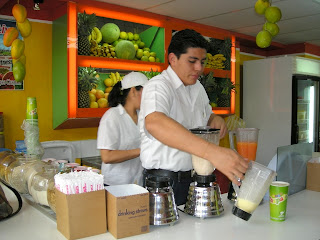 Chapala's juices, La Ceiba, Honduras