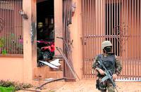 Police raid, La Ceiba, Honduras