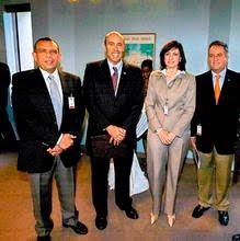Pepe Lobo, Hugo Llorens, Maria Antonieta de Bogran, Ricardo Alvarez