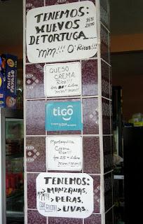 sign, Honduras