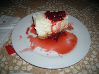 cheesecake, Fogoncito, La Ceiba, Honduras