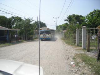 bus, El Porvenir, Honduras