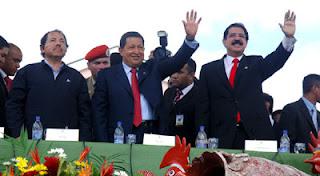 ALBA, Daniel Ortega, Hugo Chávez, Manuel Zelaya