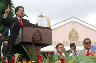 Honduran President Mel Zelaya
