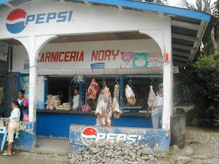 Meat in San Juan Pueblo, Honduras