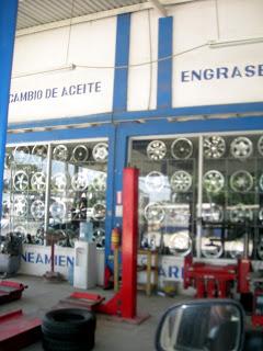 Tire shop, La Ceiba, Honduras