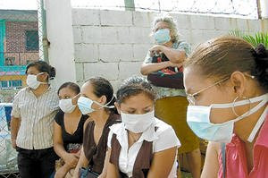 swine flu, Honduras