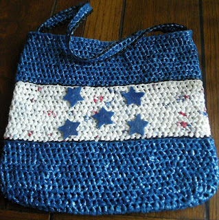 Honduras flag bag recycled plastic bags