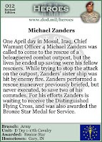 Wednesday Hero: Chief Warrant Officer Michael Zanders (history pic)