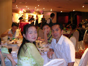 Helearn and Mary wedding dinner reception