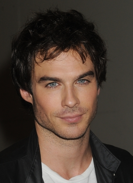 ... Ian Somerhalder, that man is smoking, I'd turn vamp for him, ...