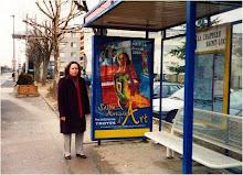Tranh Vũ Thái Hòa trên đường phố Pháp Quốc